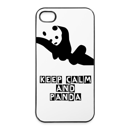 schlafender Panda - iPhone 4/4s Hard Case