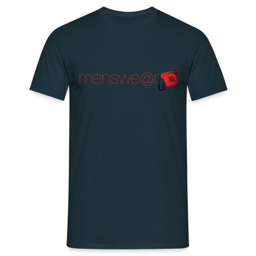 orange telephone tee - Men's T-Shirt