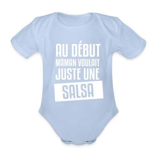 Boby Salsa (fille) - Body bébé bio manches courtes