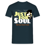 T-Shirts ~ Männer T-Shirt ~ Just-for-Soul Fanshirt beidseitig bedruckt