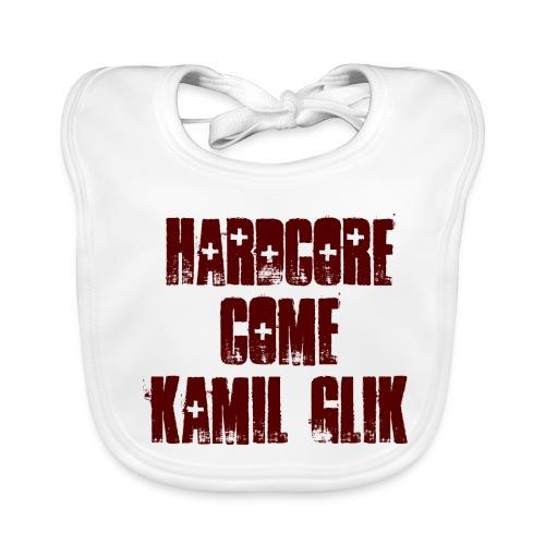 HARDCORE COME KAMIL GLIK Body Neonato scritta granata - Bavaglino