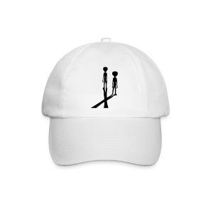 Aliens X ombres - Baseballkappe