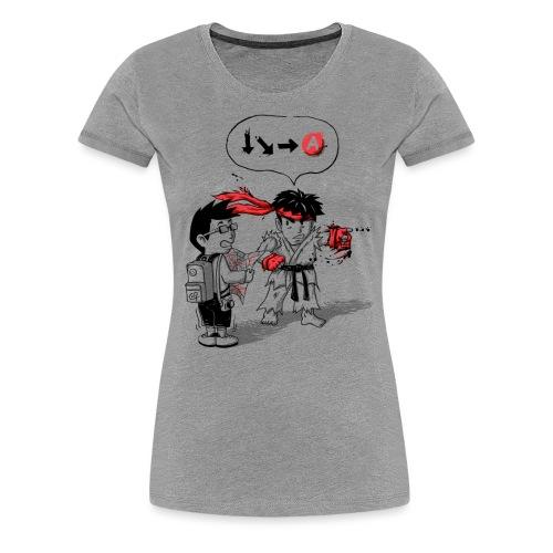 Hadoken? - Women's Premium T-Shirt