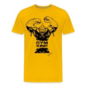 Gym King shirt - Men's Premium T-Shirt