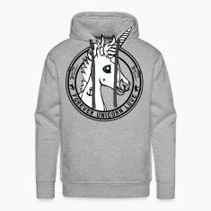 Heather grey Colt - Unicorn Love (onwhite) Hoodies & Sweatshirts
