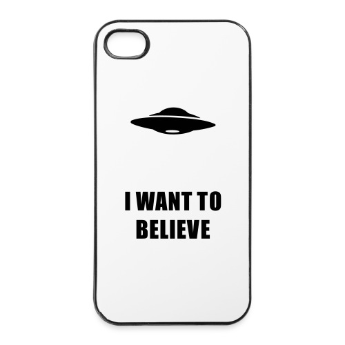 I want to believe - Coque rigide iPhone 4/4s