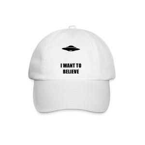 I want to believe - Baseballkappe