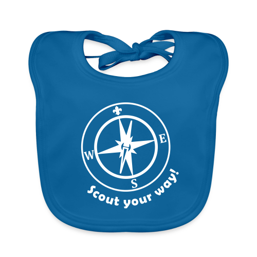 Scout your way! - Baby Organic Bib