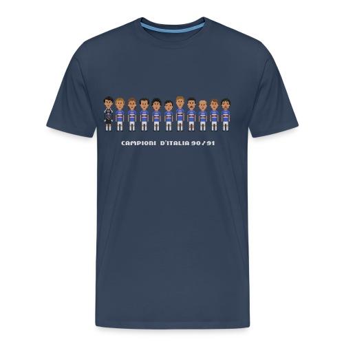 Men T-Shirt - Sampd 90/91 - Men's Premium T-Shirt