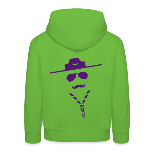 Moustache - Hoody Kids - Kids' Premium Hoodie
