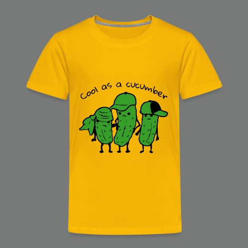 Cool as a cucumber - Kinder Premium T-Shirt