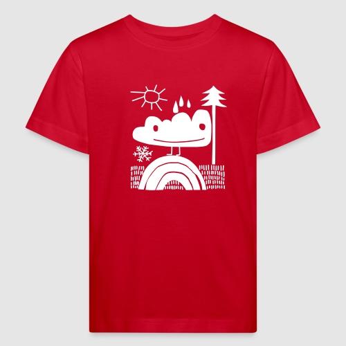 nicht mehr leuchtende Wolke! - Kinder Bio-T-Shirt