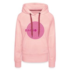 DISC pink - samtig / Kaputzenpulli - Frauen Premium Hoodie