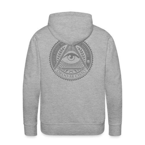 Ordo Ab Chao / Sweat shirt - Sweat-shirt à capuche Premium pour hommes