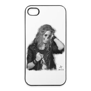 Coque rigide iPhone 4/4s - annso,annsom,band,blog,coque,createur,designer,fashion,groupe,guitariste,kooples,massot,mode,mort,music,olivier,paris,pop,rock,shopping,skull,tete,vetement