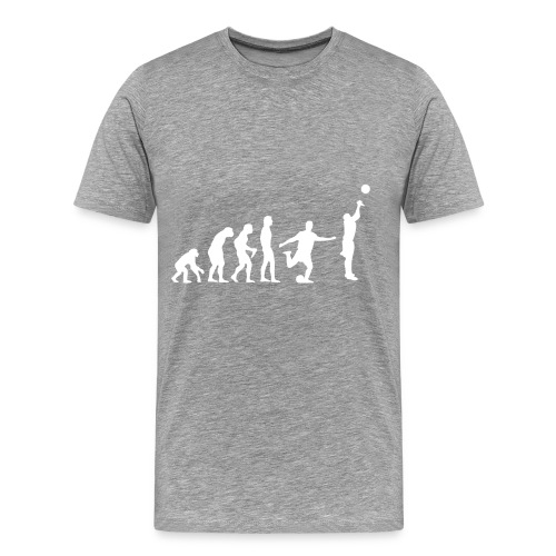 Basket Evolution - Herre premium T-shirt