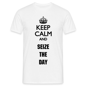 Seize The Day Man W - Men's T-Shirt