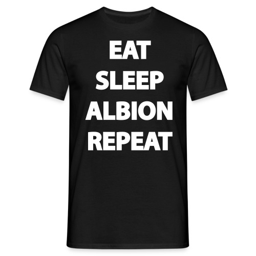 EatSleepAlbionRepeat - Men's T-Shirt