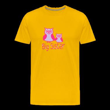 Eule_Big sister T-Shirts