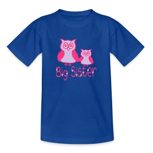 Eule_Big sister Shirts - Kids' T-Shirt