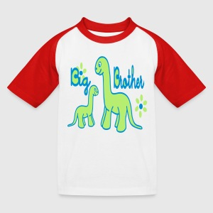 Dino_big brother Tee shirts - T-shirt baseball Enfant