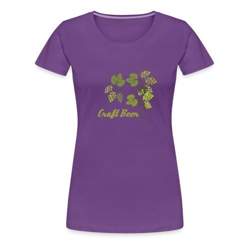 Craft Beer clásica mujer  - Camiseta premium mujer