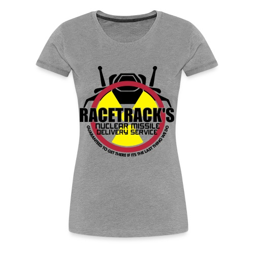 Racetrack's Delivery Front only - Women's Premium T-Shirt