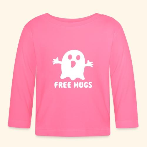 Free Hugs Ghost - Baby Langarmshirt