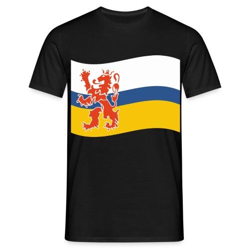 Limburgse vlag - Mannen T-shirt