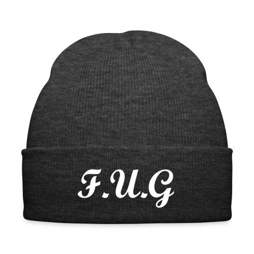 DARK GREY F.U.G beanie  - Winter Hat