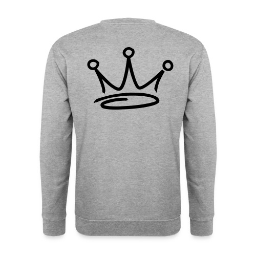 Men's WHITE back logo F.U.G sweatshirt - Men's Sweatshirt