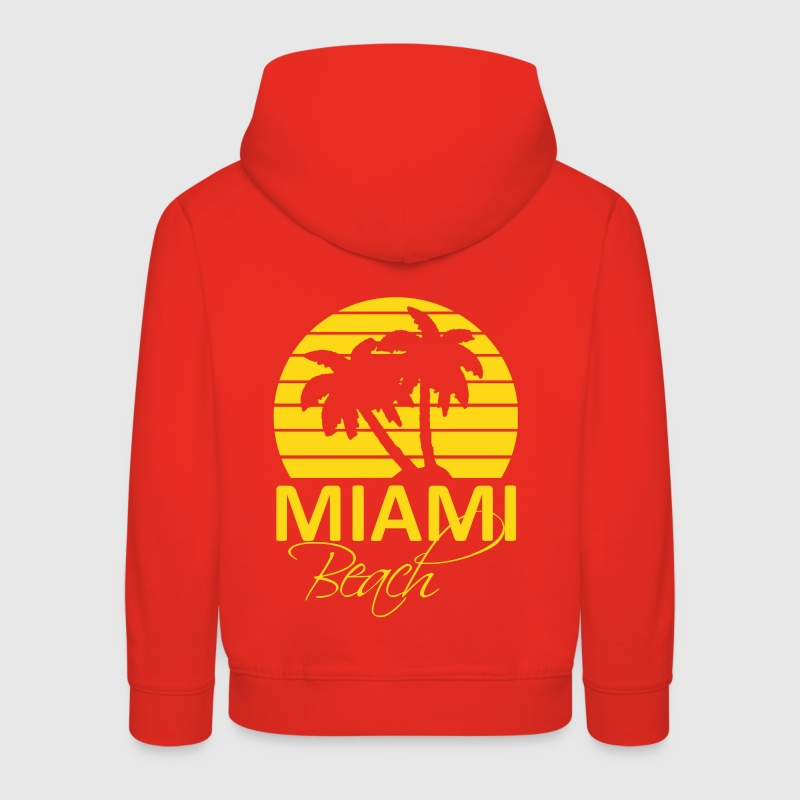 miami beach Sweats - Pull à capuche Premium Enfant