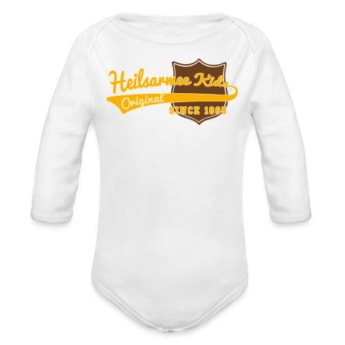 Heilsarmee Kids - Baseball - Baby Bio-Langarm-Body