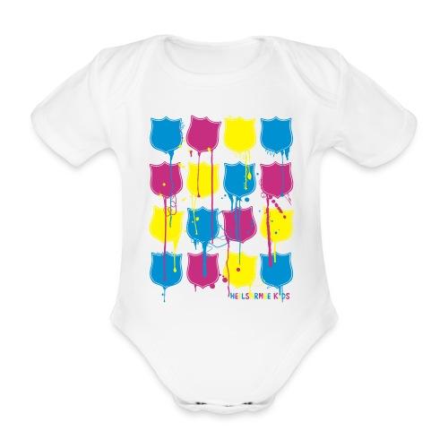 Heilsarmee Kids - Shields - Baby Bio-Kurzarm-Body