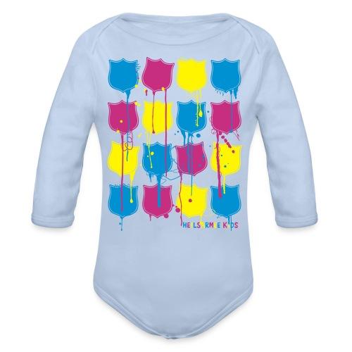 Heilsarmee Kids - Shields - Baby Bio-Langarm-Body