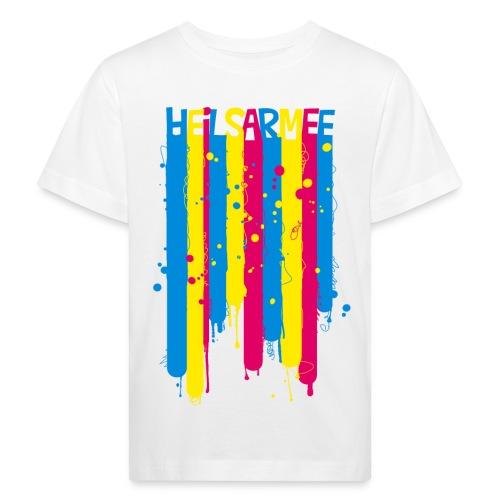 Heilsarmee Kids - Streifen - Kinder Bio-T-Shirt