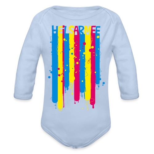 Heilsarmee Kids - Streifen - Baby Bio-Langarm-Body