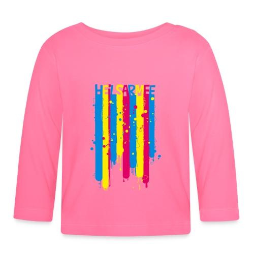 Heilsarmee Kids - Streifen - Baby Langarmshirt
