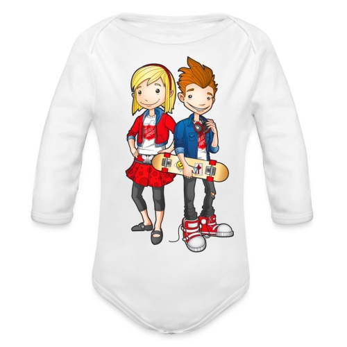 Heilsarmee Kids - Characters - Baby Bio-Langarm-Body