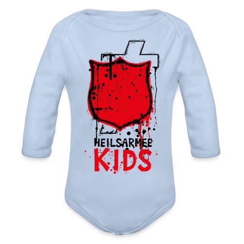 Heilsarmee Kids - Shield - Baby Bio-Langarm-Body