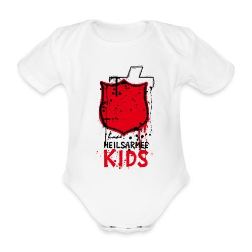 Heilsarmee Kids - Shield - Baby Bio-Kurzarm-Body