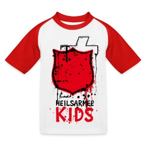 Heilsarmee Kids - Shield - Kinder Baseball T-Shirt