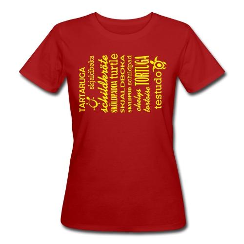 Schildkröten gibt es Überall - T-Shirt - Frauen Bio-T-Shirt