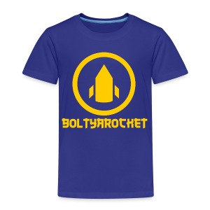 Bolt Ya Rocket - Kids' Premium T-Shirt