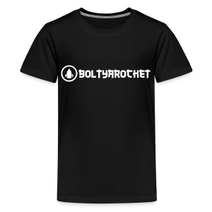 Bolt Ya Rocket - Teenage Premium T-Shirt