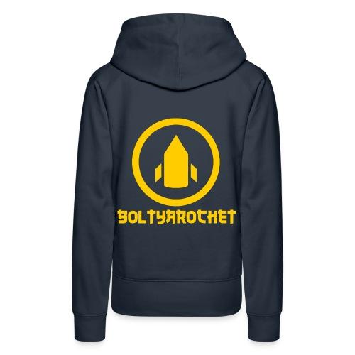 Bolt Ya Rocket - Women's Premium Hoodie