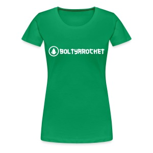 Bolt Ya Rocket - Women's Premium T-Shirt