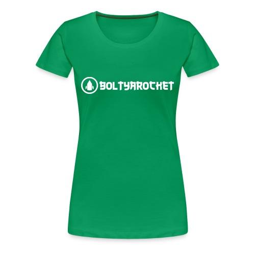Bolt Ya Rocket - Women's Premium T-Shirt