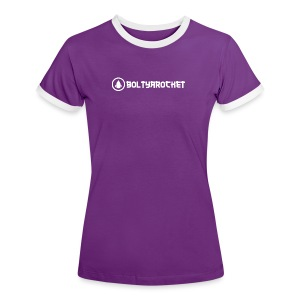 Bolt Ya Rocket - Women's Ringer T-Shirt
