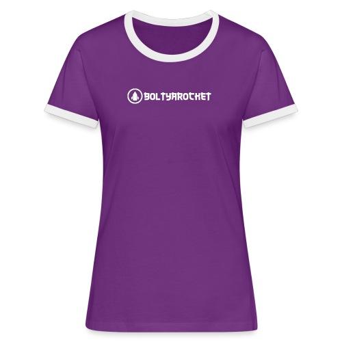 Bolt Ya Rocket - Women's Ringer T-Shirt